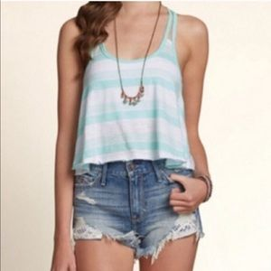 Hollister Strappy Back Tank Top